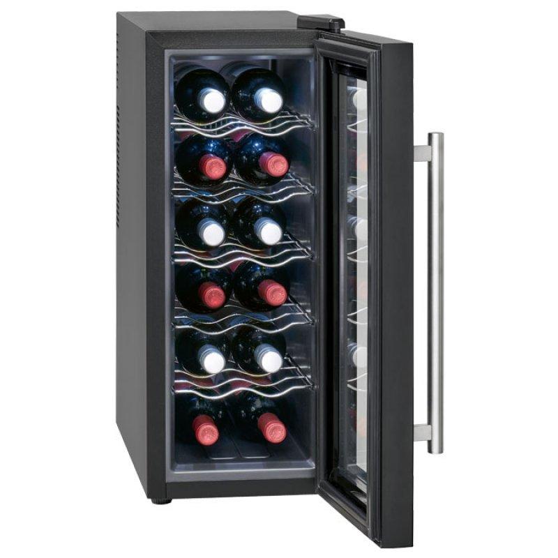 Συντηρητής κρασιών χωρητικότητας 12 μπουκαλιών (32L), 65W.