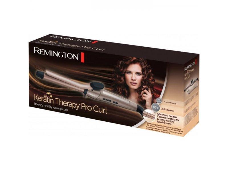 Επαγγελματικό ψαλίδι για μπούκλες CI8319 Keratin Therapy Pro της Remington με προστασία κερατίνης