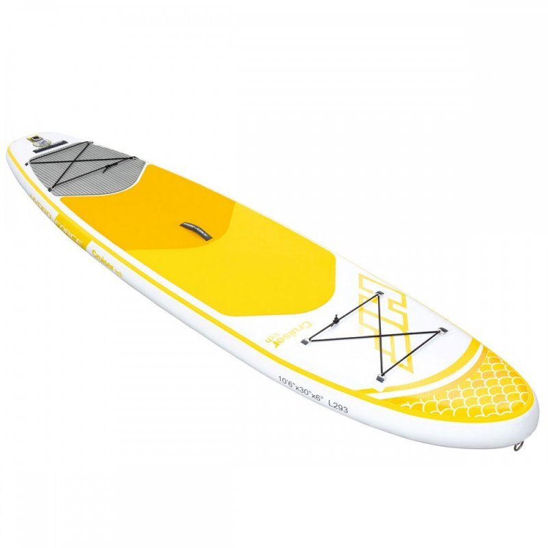 Σανίδα Sup BestWay Hydro-Force 3.20M Cruiser Yellow 65305