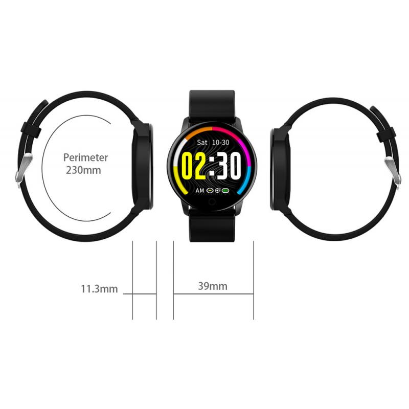 Smart Watch Q20 1.22'' Touch Screen IP67 Αδιάβροχο