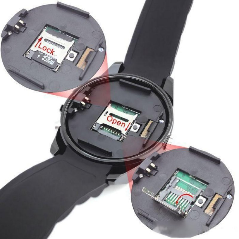 Ρολόι Χειρός Κρυφή Κάμερα HD - Night Vision