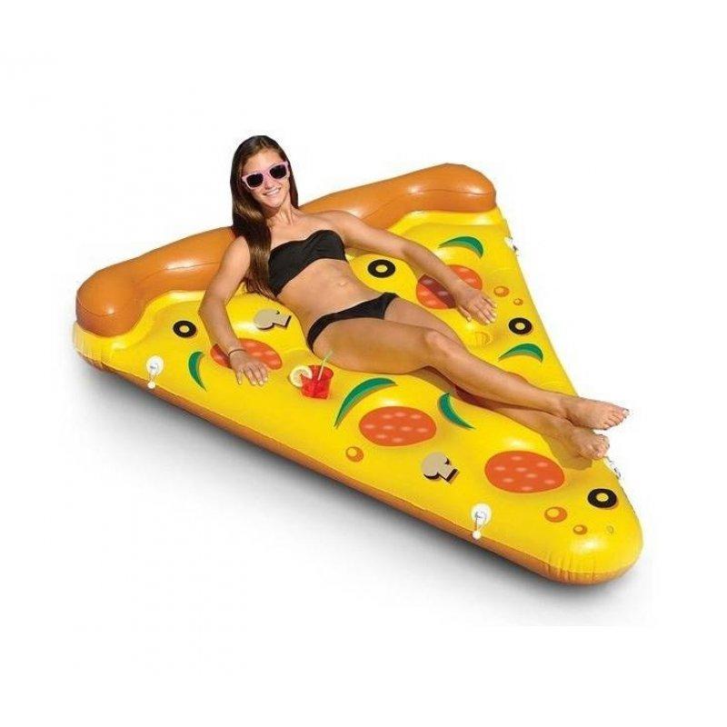 Φουσκωτο στρώμα σε σχέδιο Pizza 175x130x40εκ