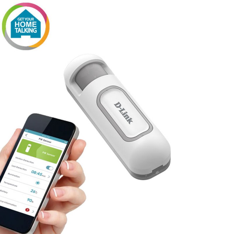 D-Link DCH-Z120 Αισθητήρας ανίχνευσης κίνησης με δυνατότητα ειδοποίησης παραβίασης στο κινητό σας