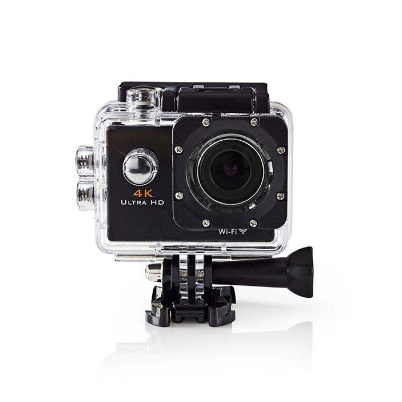 "Nedis  Αδιάβροχη action κάμερα Ultra HD 4K Wi-Fi, με οθόνη TFT 2"""