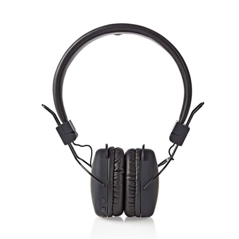 Nedis Ασύρματα ακουστικά με σύνδεση Bluetooth, σε μαύρο χρώμα