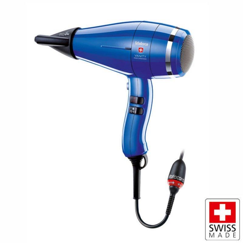 Valera Επαγγελματικό σεσουάρ μαλλιών με μοτέρ 2400W και σύστημα περιστροφής καλωδίου 360°.