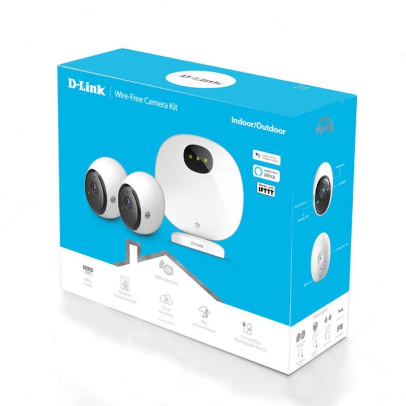 MYD-LINK DCS-2802KT-EU Pro Wire-Free Camera Kit