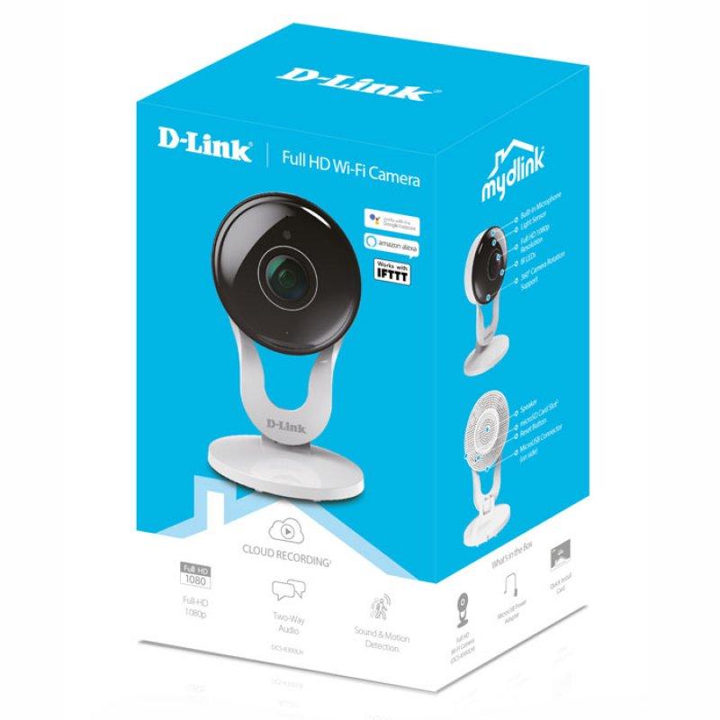 D-Link έγχρωμη HD διαδικτυακή IP κάμερα Ημέρας/Νύχτας με αισθητήρα κίνησης