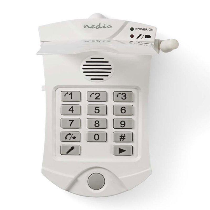 Nedis Συσκευή τηλεφωνικής κλήσης εκτάκτου ανάγκης με 2 τηλεχειριστήρια