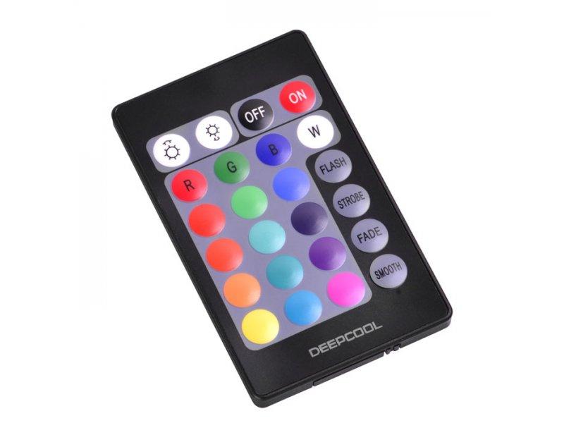Έγχρωμη ταινία Led RGB μικρού μήκους με τηλεχειριστήριο, για κουτιά υπολογιστών και διάφορες άλλες εφαρμογές