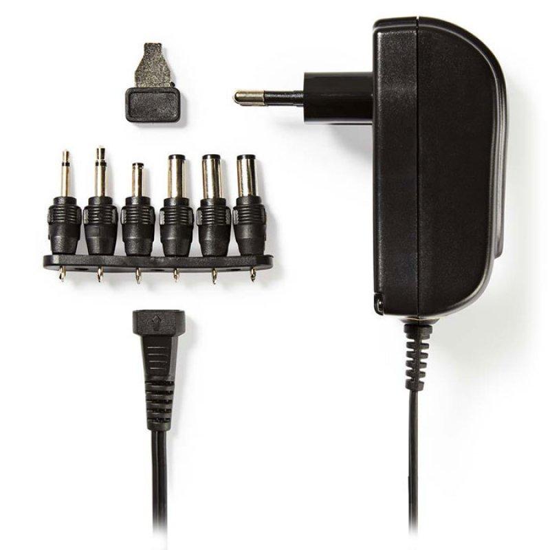Universal τροφοδοτικό 18W switching με έξοδο 3-12V
