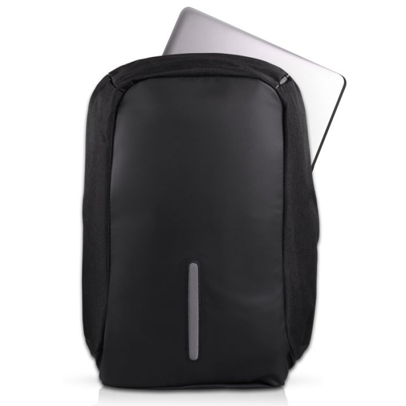 NOD Αnti-theft σακίδιο πλάτης για laptop έως 15,6'' με ενσωματωμένη θύρα USB, σε μαύρο χρώμα