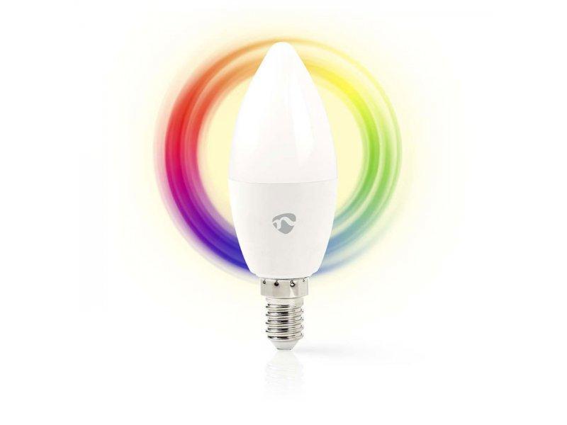 Nedis Wi-Fi έξυπνη λάμπα RGB LED, E14