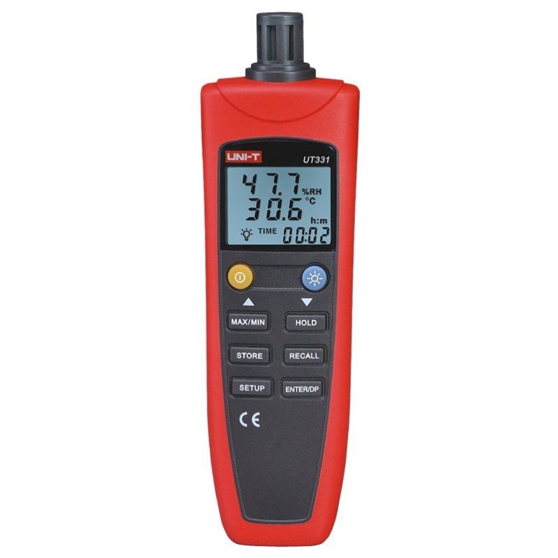 Ψηφιακό υγρόμετρο - θερμόμετρο, δυνατότητα σύνδεσης με υπολογιστή μέσω USB