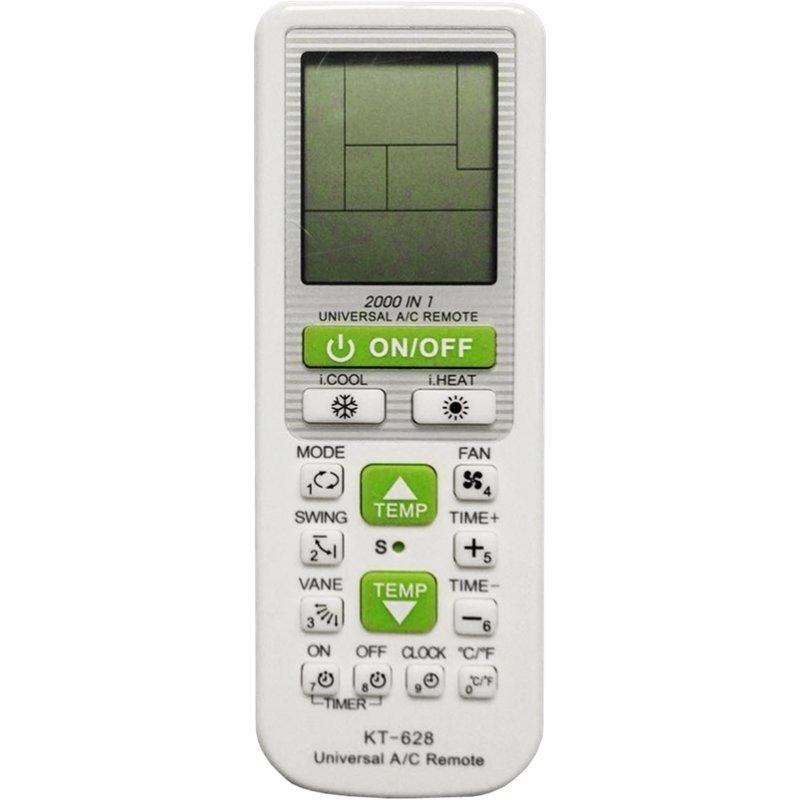 Προγραμματιζόμενο τηλεχειριστήριο για όλους τους τύπους A/C(Κλιματιστικά) με LCD οθόνη