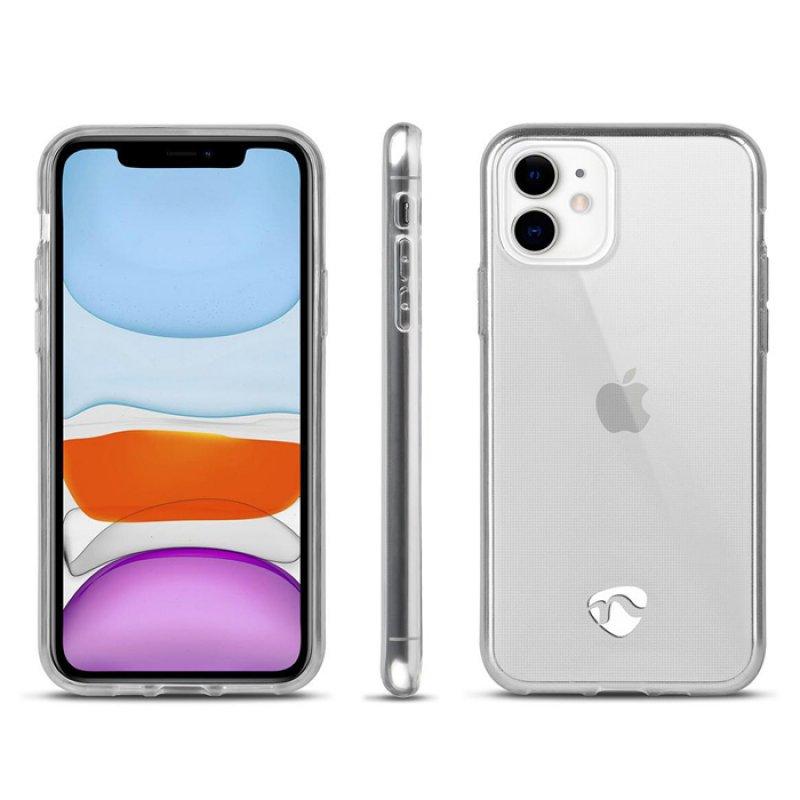 Διάφανη θήκη σιλικόνης για το Apple iPhone 11.