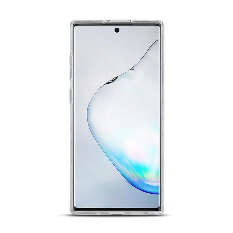 Διάφανη θήκη σιλικόνης για το Samsung Galaxy Note 10 Plus.