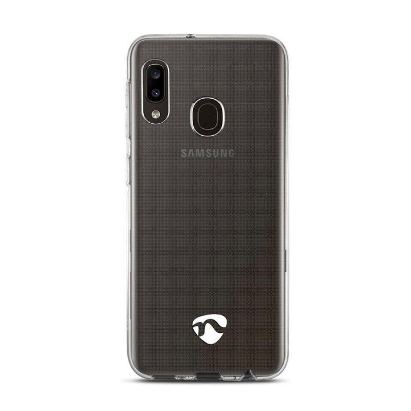 Διάφανη θήκη σιλικόνης για το Samsung Galaxy A20e.