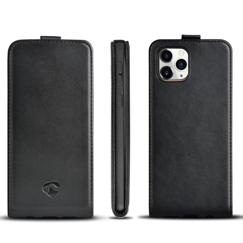 Θήκη Flip Case για το Apple iPhone 11 Pro, σε μαύρο χρώμα.