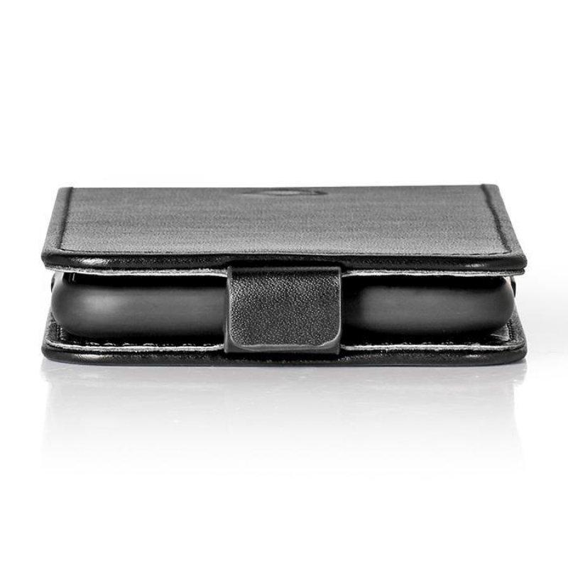 Θήκη Flip Case για το Huawei P30 Pro, σε μαύρο χρώμα.