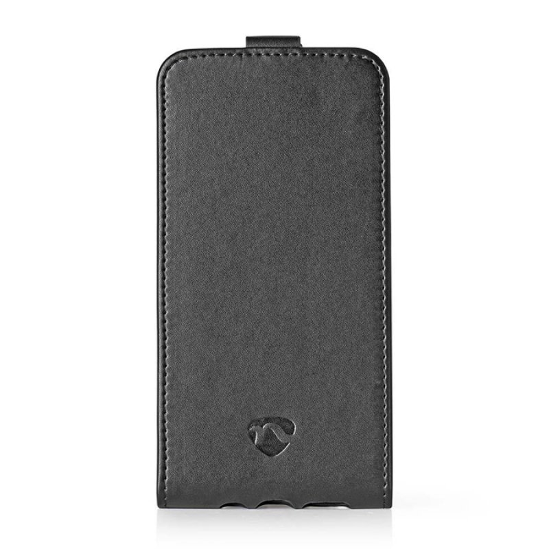 Θήκη Flip Case για το Huawei P20 Lite/Nova 3, σε μαύρο χρώμα.