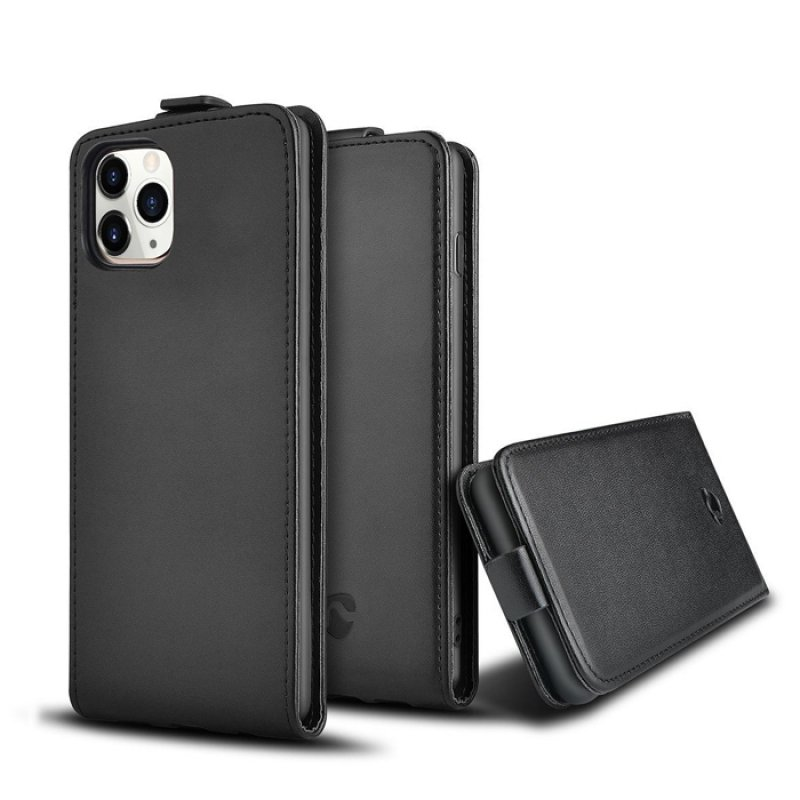 Θήκη Flip Case για το Apple iPhone 11 Pro Max, σε μαύρο χρώμα.