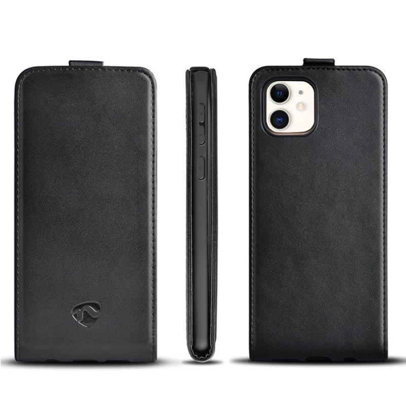 Θήκη Flip Case για το Apple iPhone 11, σε μαύρο χρώμα.