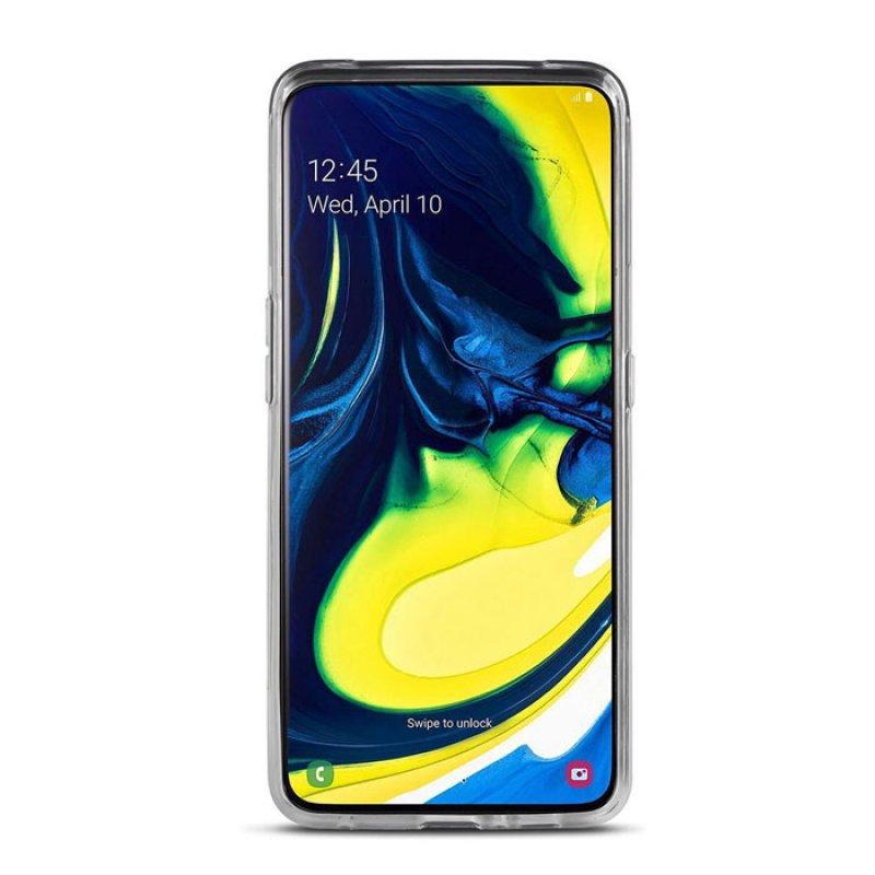 Διάφανη θήκη σιλικόνης για το Samsung Galaxy A80.