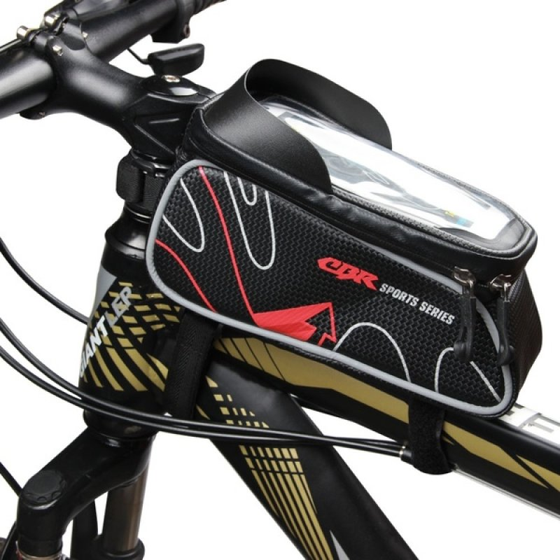 Αδιάβροχο τσαντάκι ποδηλάτου με θήκη κινητού εως 6 inch