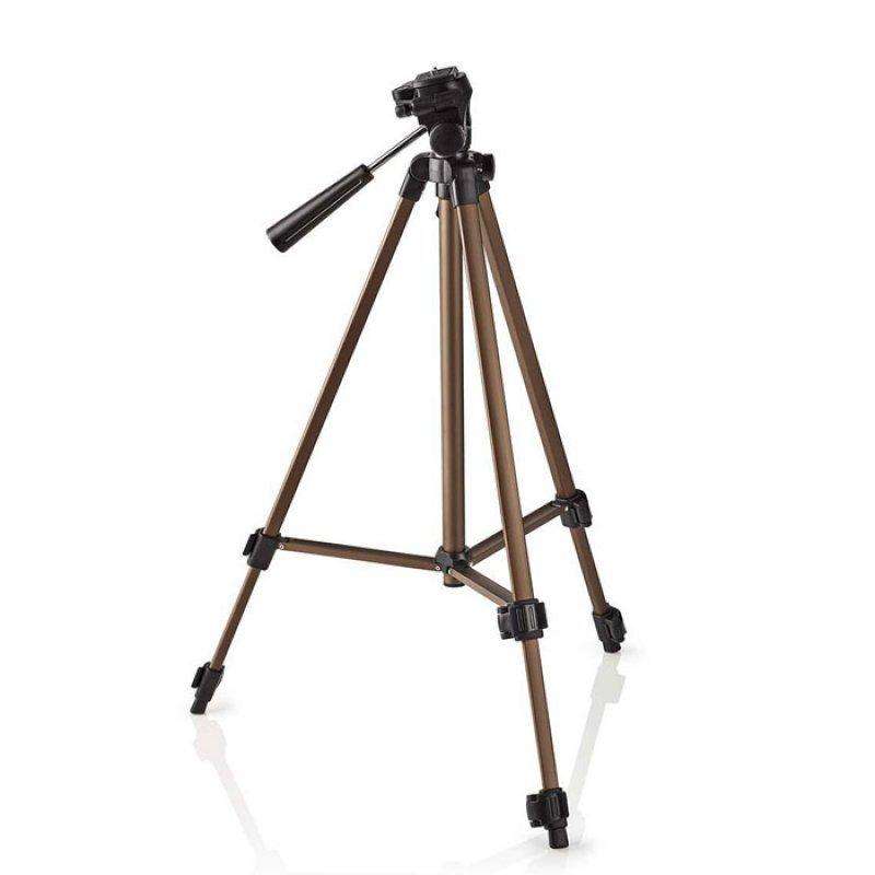 Τρίποδας αλουμινίου με max ύψος 127 cm για φωτογραφικές μηχανές και βιντεοκάμερες