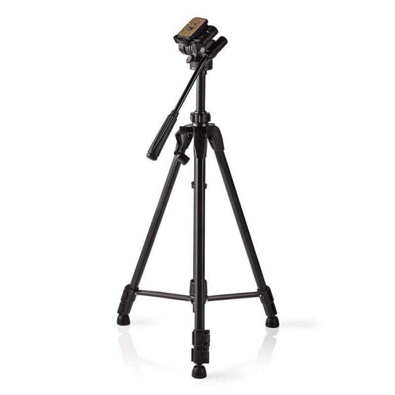 Τρίποδας αλουμινίου με max ύψος 148 cm για φωτογραφικές μηχανές και βιντεοκάμερες