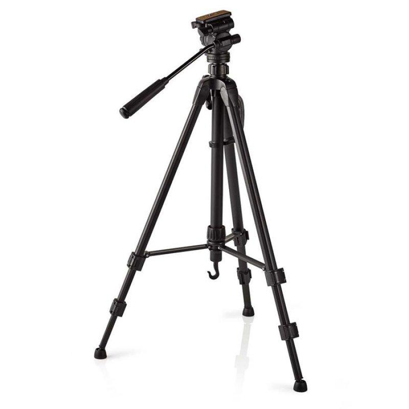 Τρίποδο αλουμινίου με max ύψος 160 cm, για καλύτερη ισορροπία της φωτογραφικής μηχανής σας.