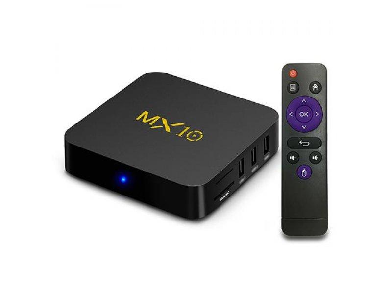 TV Box MX10 Android 9.0 New RK3328 4GB Ram DDR4 32GB Rom KODI 18.0 Netflix-Kodi με Ελληνικό μενού