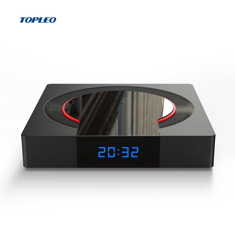 Tv Box I96 Topleo Pro Amlogic S905X3 4GB Ram 64GB Rom Bluetooth 2,4 GHz-5,0GHz Wi-Fi Kodi 18.6 Netflix