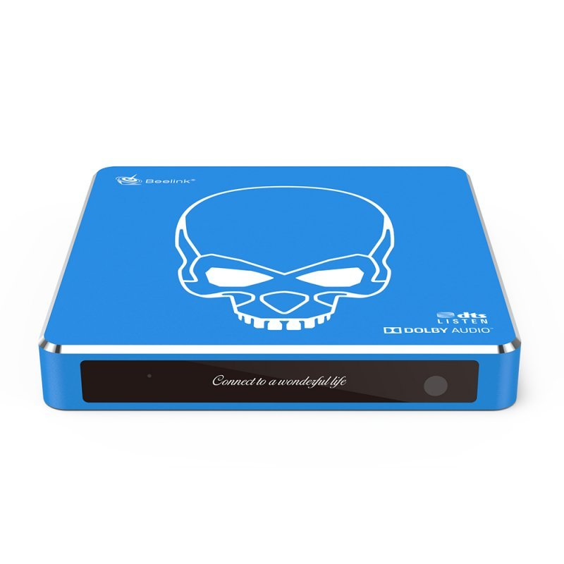 Beelink GT-King Pro Amlogic S922X-H Android 9.0 Dual System Hi-Fi Lossless Sound 4K 4GB/64GB ROM Dolby DTS WiFi6 1000M LAN USB3.0