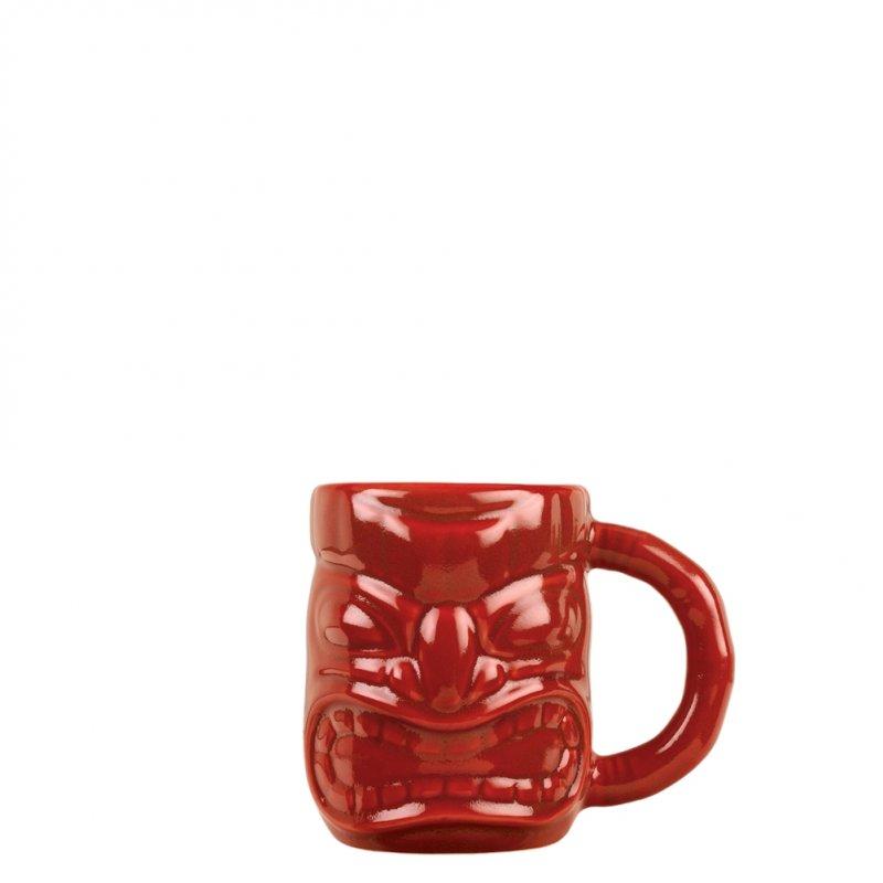 Σετ 6 Κούπες Tiki 47.3cl, φ12.7x10.2cm, Κόκκινη, με χερούλι, LIBBEY
