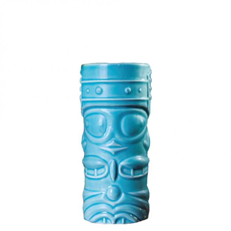 Ποτήρι Tiki 40cl, φ7.5x16.5cm, Θαλασσί, APS Bar Supply