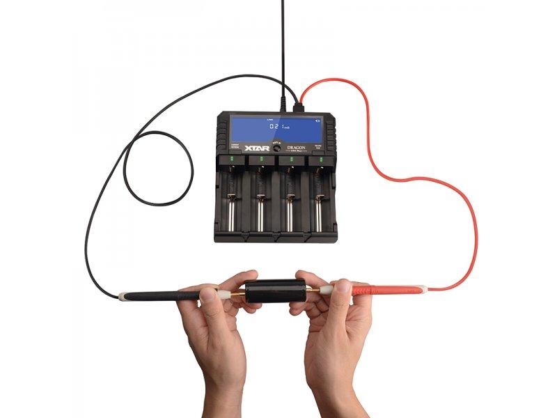 Φορτιστής μπαταριών τετραπλός XTAR VP4 Dragon για 10440/14500/14650/16340/17500/17670/18350/18490/18500/18650/18700/22650/25500/26650/32650 3.6V/3.7V Li-ion, ΑΑΑΑ/AAA/A/A/SC/C/D 11.1V/3S