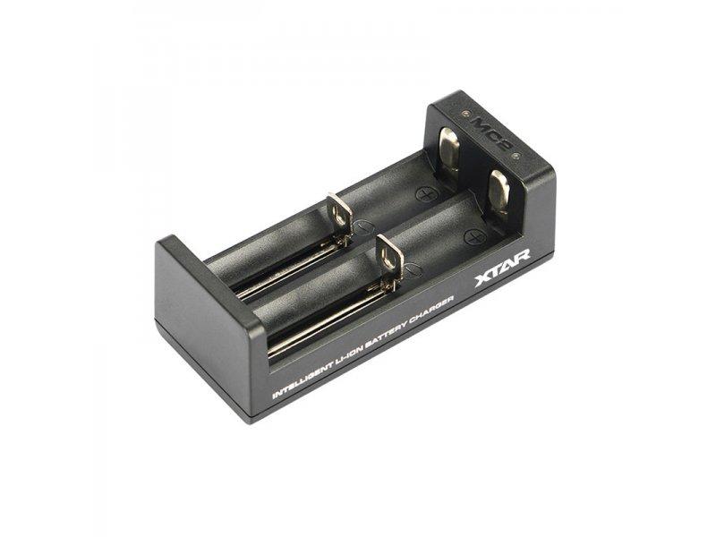 Φορτιστής μπαταριών διπλός XTAR MC2 Plus για 14500/14650/16340/17335/17500/18650/18500/18490/25500 κτλ.