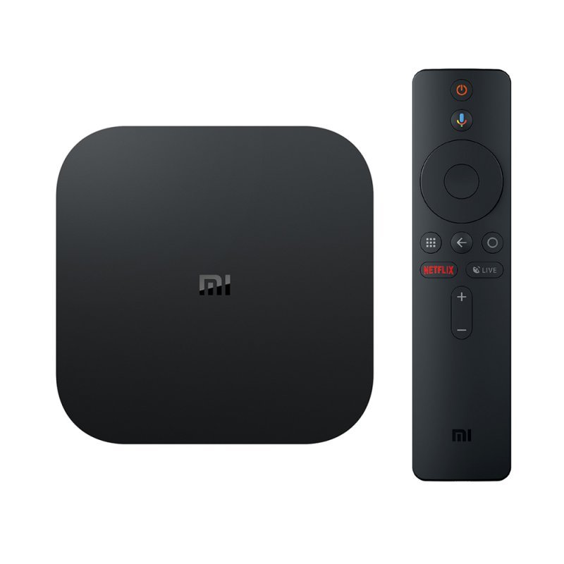 Xiaomi Tvbox MiBox S 4K Ultra HD Tv media player 8.1 Android Netflix-Kodi με Ελληνικό μενού Bluetooth