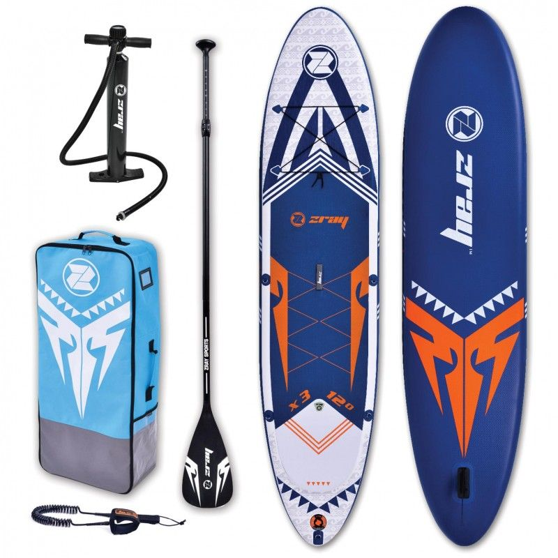 Σανίδα Sup Zray 12'0'' 365CM X-Rider Epic ZRX3 Full Packet
