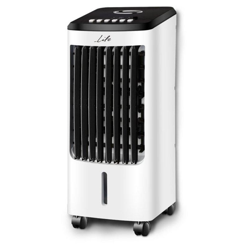 Air Cooler Με Λειτουργία Ψύξης Μέσω Εξάτμισης Νερού, 80W.