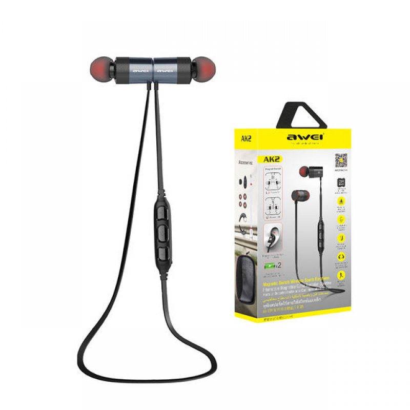 Bluetooth αθλητικά αδιάβροχα ασύρματα ακουστικά Awei ak2