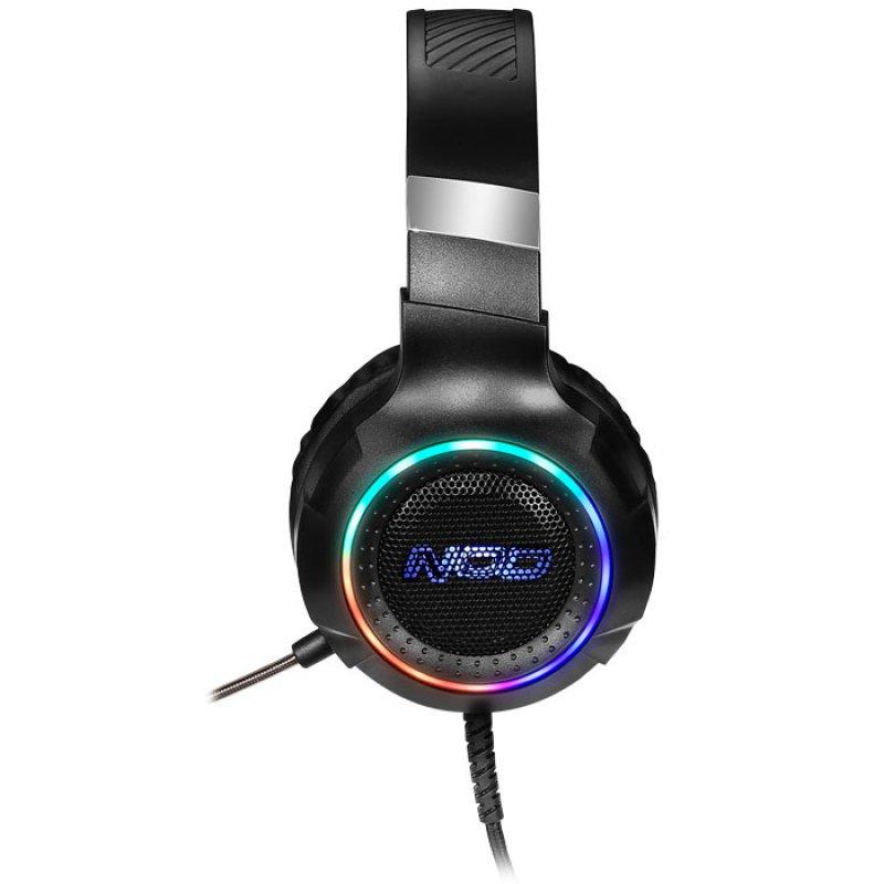 USB Gaming Headset με RGB LED φωτισμό, δόνηση και χειριστήριο.