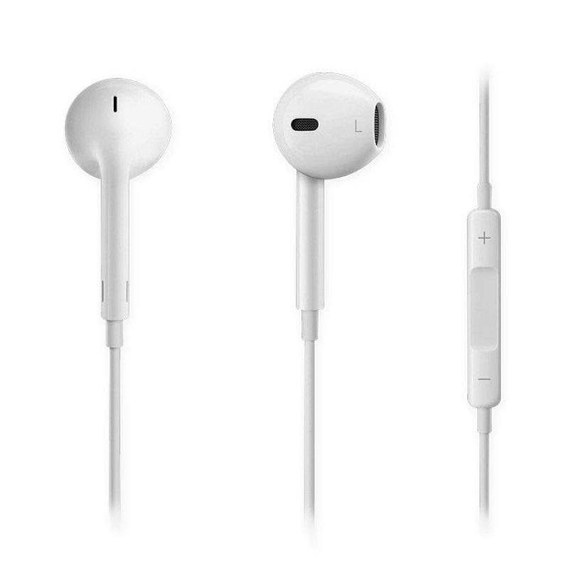 Ενσύρματα Ακουστικά Με Μικρόφωνο Και Σύνδεση 3.5mm.