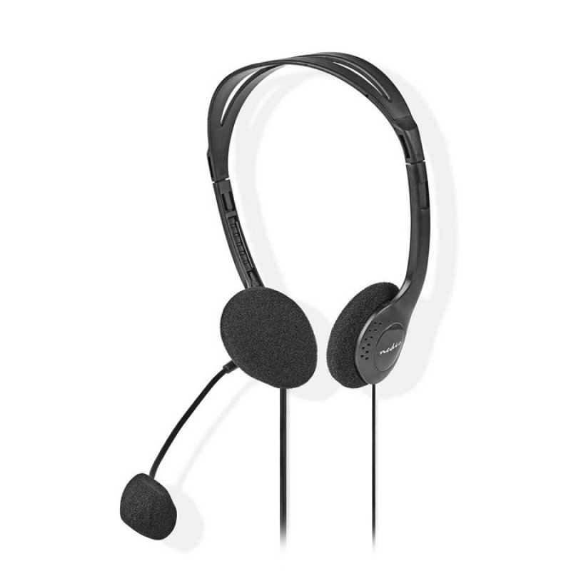 Στερεοφωνικό On-Ear Headset, Με Σύνδεση 2x3,5mm.