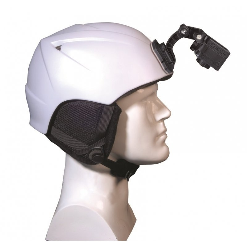 AEE M04 Bάση στήριξης αυτοκόλλητη με μπράτσο για στήριξη της κάμερας στο μπροστινό μέρος του κράνους