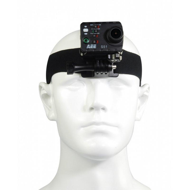 AEE B10 Πλήρης ρυθμιζόμενος ιμάντας στήριξης κάμερας για το κεφάλι