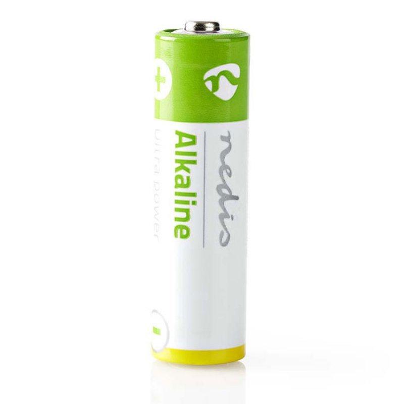 Αλκαλικές μπαταρίες 1.5V AA σε συσκευασία 20 μπαταριών
