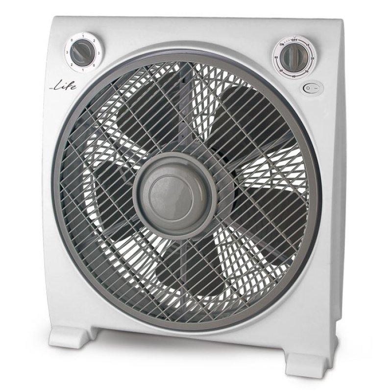 """Ανεμιστήρας Box Fan 12"""", 50W."""
